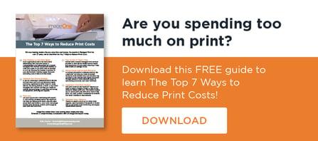 7 Ways to Reduce Print