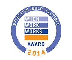imageOne earns prestigious When Work Works Award