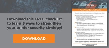 Print Security Checklist Download