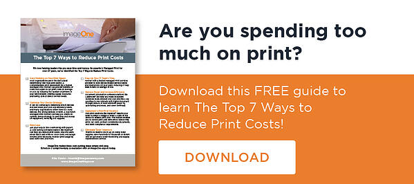 7 Ways to Reduce Print