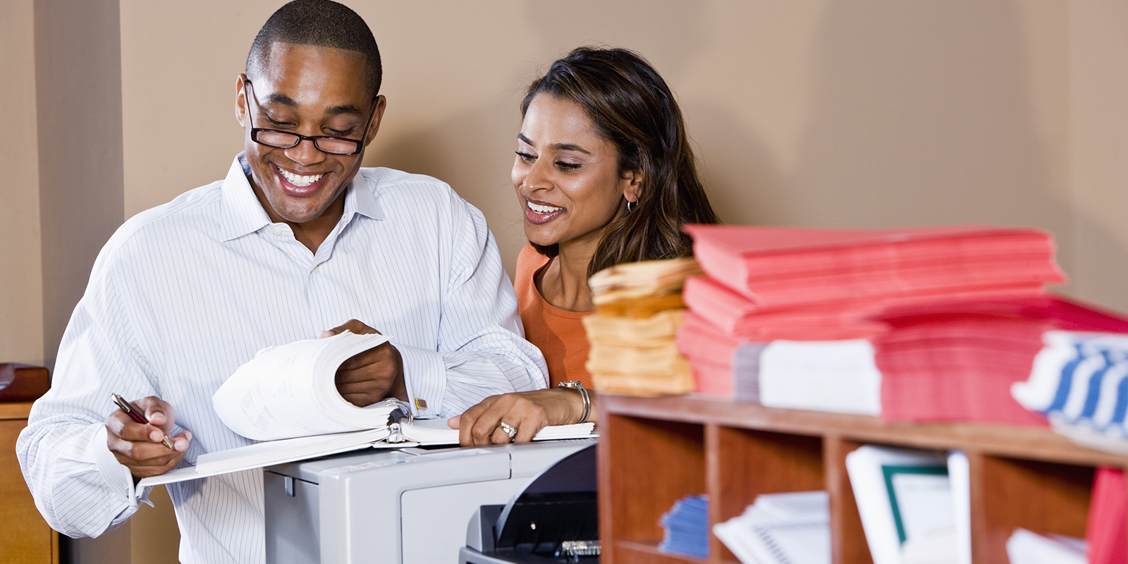 office printer assessment photo