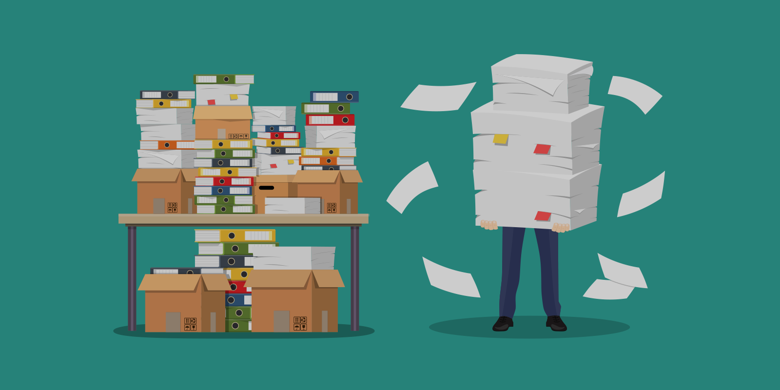 How to Use Less Paper At the Office